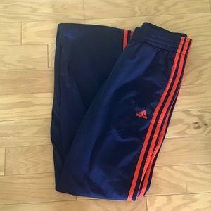 NWOT Adidas Superstar Three Stripe Track Pants S